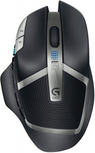 Logitech G602 Lag-Free 11 Buttons Wireless Gaming Mouse