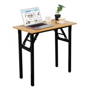 Need AC5BB-E1(8040) Small Heavy-Duty Folding Laptop Desk for Small Spaces
