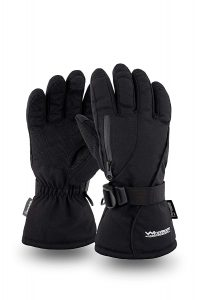 WindRider Rugged Waterproof Winter Gloves for Men or Women