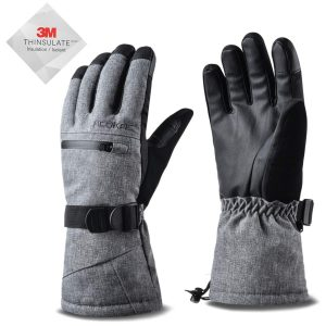 Acokac 3M-Thinsulate Snow Ski Gloves