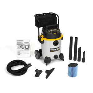 WORKSHOP WS1600SS Wet Dry Vacuum Cleaner Stainless Steel