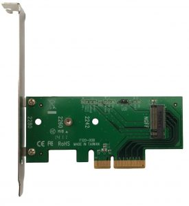 Lycom DT-120 M.2 PCIe to PCIe 3.0 x4 Adapter
