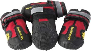 My Busy Dog Water Resistant Rugged Anti-Slip Sole Dog Shoes