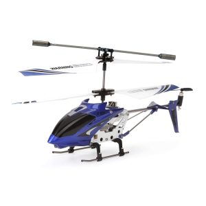 Syma S107G RC Helicopter with Gyro, 3 Channel, Blue