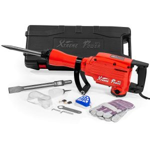 XtremepowerUS Heavy Duty Electric Demolition hammer Concrete Breaker