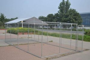 Backyard Dog Kennel Outdoor by Chicken Coop Outlet