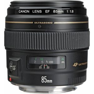 Canon EF 85mm USM Medium f 1.8 Telephoto Lens