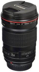 Canon EF 135mm f2L USM Fixed Lens for Canon SLR Cameras