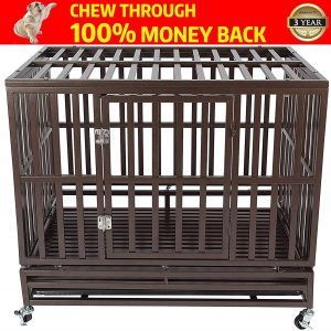 Heavy Duty Dog Cage Kennel Crate by HAIGE Pet Your Pet Nanny