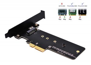EZDIY-FAB PCI Express M.2 SSD NGFF PCIe Card Adapter