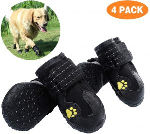 PG.KINWANG Waterproof Shoes for Medium to Large Dogs