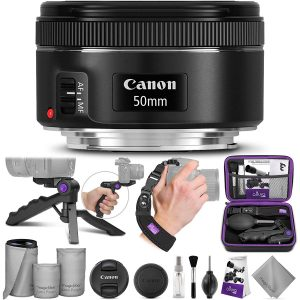 Canon EF 50mm f 1.8 STM Canon Altura Photo Essential Accessory Bundle