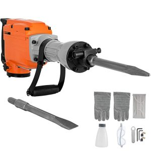 Mophorn Electric Demolition Hammer Concrete Breaker, 2200W
