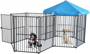 Heavy Duty Dog Playpen Dog Kennel by LEMKA