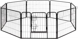 DK24X32 Heavy Duty Pet Playpen Dog Kennel by ALEKO