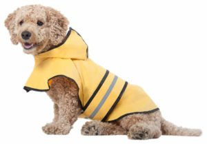 Ethical Pet Fashion 100% Polyester Pet Dog Raincoat for Small Dogs