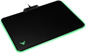 AmazonBasics LED Hard Gaming Mouse Pad