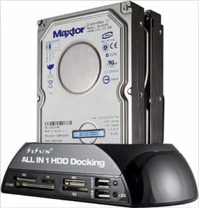SISUN IDE SATA Hard Drive All-in-One Docking Station