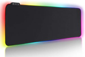 Reawul 14 Modes Large RGB Gaming Mouse Keyboard Mat