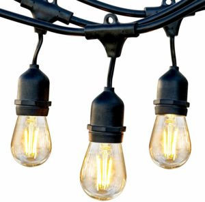 Brightech Ambience Pro Waterproof LED Outdoor String Lights