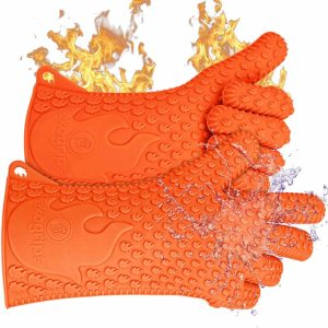Jolly Green Products Ekogrips Premium BBQ Oven Insulated Silicone Gloves
