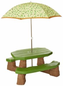 Step2 Naturally Playful Table with Umbrella