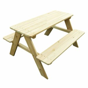 Merry Garden Kids Wooden Picnic Outdoor Patio Dining Table