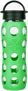 Lifefactory 22 Oz BPA-Free Glass Water Bottle