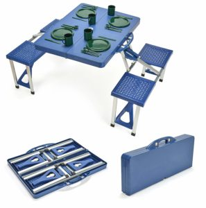 Trademark Innovations Portable Picnic Table with 4 Seats