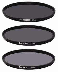 ICE 82mm Slim ND Filter Set