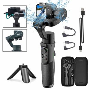 Hohem 3-Axis Handheld Splash Proof Gimbal Tripod Stick for GoPro