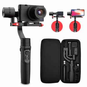 Hohem 3-Axis Action, Digital Cameras, & Smartphone Gimbal Stabilizer