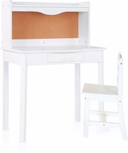 Guidecraft Classic Kids Desk and Chair Set