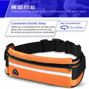 E Tronic Edge Waist Packs Unisex Running Belt