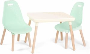B toys Kids Furniture Set with 1 Craft Table & 2 Chairs