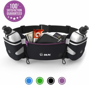 G-RUN Hydration Running Belt with Bottles Pouches