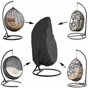 Saking Waterproof Cover Patio Hanging Egg Swing Chair