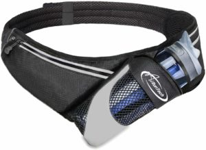 AiRunTech N0 Bounce Running Belt with Water Bottle Holder