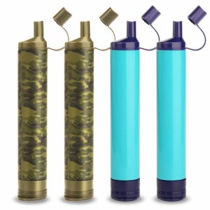 WakiWaki Straw Filter Hiking Water Purifier