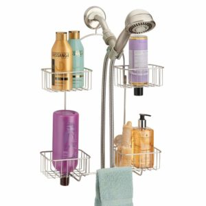 MDesign Metal Hanging Bath and Shower Caddy