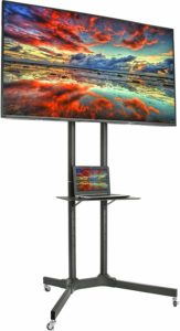 VIVO Mobile TV Cart for Flat Panel Screen TVs