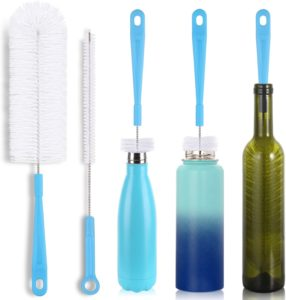 HIWARE Long Handle Bottle Brush for Cleaning Bottles