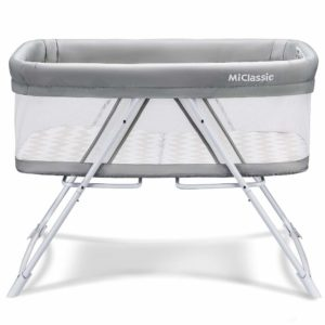 MiClassic All mesh 2 in1 Stationary and Rock Bassinet
