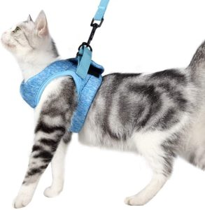 Yult Ultra-Light Escape Proof Collar Cat Harness &Leash