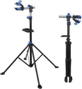 ZENY Adjustable Quick Release Telescopic Arm Bike Stand