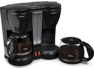 CucinaPro 12-cup Pots Double Coffee Brewer Station