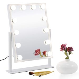 SUPER DEAL Touch Control Hollywood Vanity Mirror
