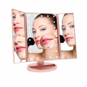 ascinate Lighted Makeup Mirror
