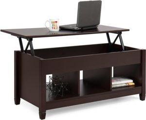 Best Choice Products Wooden Modern Coffee Dining Table