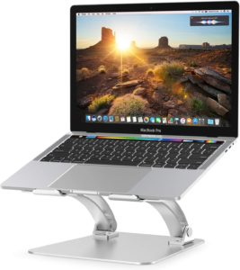Nulaxy Ergonomic Adjustable Laptop Riser Computer Stand